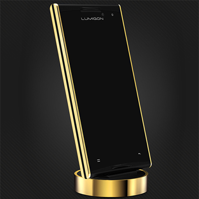 Lumigon T2 HD - 24-karat gold.