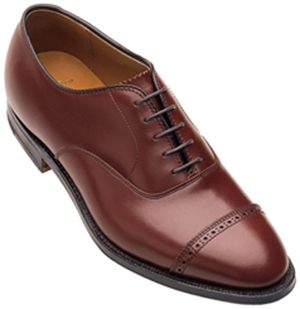 Alden New England Straight Tip Bal Oxford men's shoe.