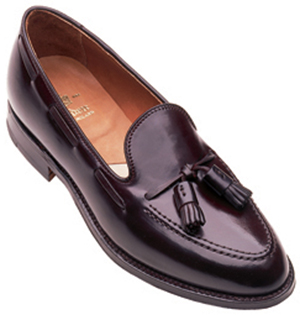 Alden New England Genuine Shell Cordovan shoe.