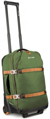 Pacsafe Toursafe EXP21 anti-theft wheeled carry-on: US$300.