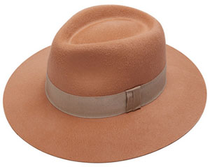 Larose Paris Sand Fedora hat: US$340.