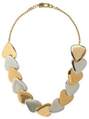 Marc Jacobs Beat It Metal Plectrum Choker: US$118.80.