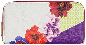 Etro women's coated, textured paisley fabric purse: €315.