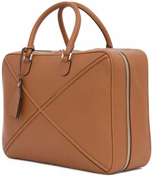 Loewe Cross Soft Suitcase 45 Tan: US$3,150.