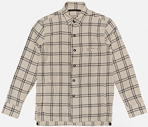 John Elliott + Co Snap Men's Overshirt Moab Check: US$325.