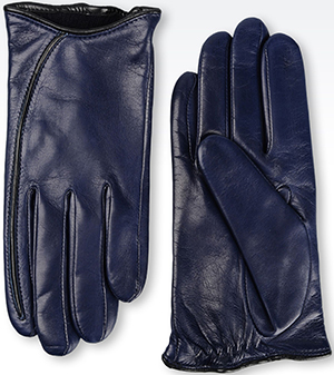 Giorgio Armani Women's Deerskin Gloves: US$345.