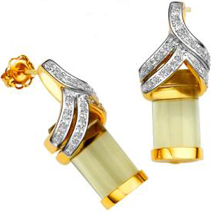 Élise Adorée women's earrings: US$3,495.
