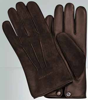 Longchamp Men's Racing Gloves: US$350.