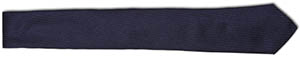 Bespoken New York Navy Skinny Silk Tie: US$36.