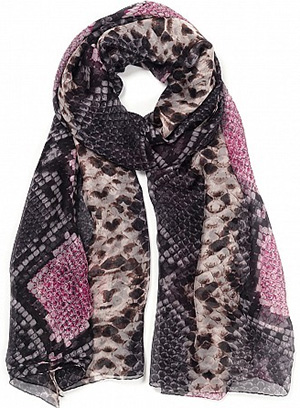 Jane Carr The Python Wrap (Ballerina) Scarf: £360.