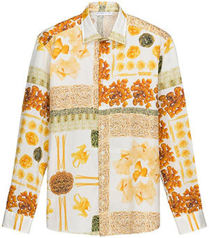 Etro long sleeved cotton fashion shirt: €380.