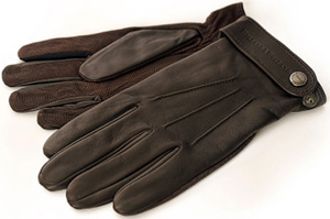 Holland & Holland Men's Waterproof Shooting Gloves: £395.