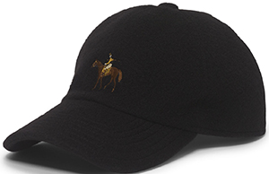 Ralph Lauren Men's Cashmere Baseball Cap: US$395.