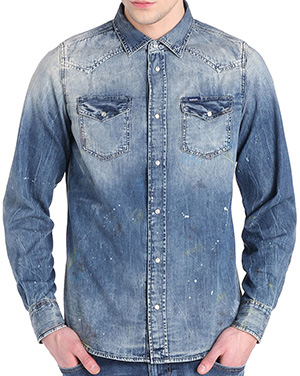 Diesel New-Sonora men's shirt: US$398.