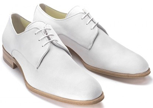 Mr.Hare Poiter White Suede men's shoes: £399.