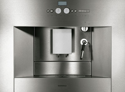 Gaggenau 400 CM 210 Fully automatic coffee machine.