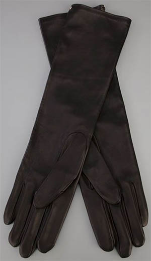 Lanvin women's long gloves: £406.58.