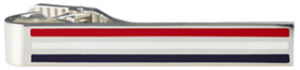 Thom Browne Red White Blue Long Tie Bar: US$425.