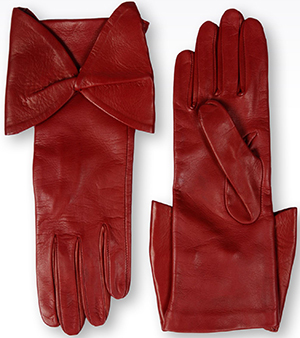 Emporio Armani Women's Red Gloves: US$425.