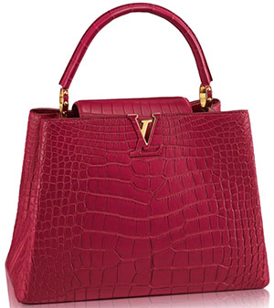 Louis Vuitton Capucines MM Handbag: US$44,500.