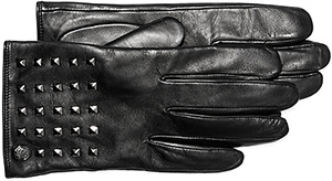 Vince Camuto Pyramid Studded Shortie Gloves: US$44.97.
