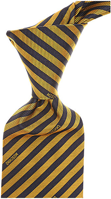 Moschino Diagonal Stripes Pattern necktie.