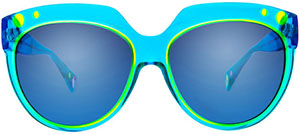 Christian Roth Pop Power 2 Women's Sunglasses: US$460.