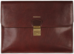 Crombie Tan Leather Men's Document Holder: £480.