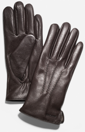 Cole Haan Classic Deerskin Mens' Gloves.