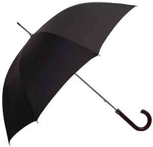 Hawes & Curtis H&C Luxury Black Walking Umbrella: £49.