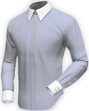 Tailor4Less Ohlin | Checked business shirt in easy care cotton men's shirt: €60.95.