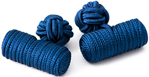 Emmett London navy silk knots: £5.
