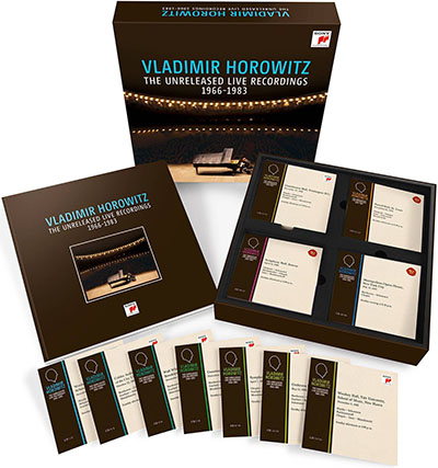 Vladimir Horowitz - The Unreleased Live Recordings 1966-1983 (50 CD Box Set).