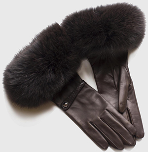 Causse Olga lambskin women's gloves: €517.