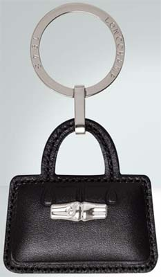 Longchamp Roseau Key Ring: US$55.