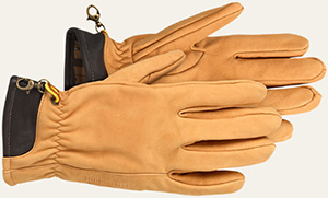 Timberland Men's Heritage Nubuck Gloves: US$58.