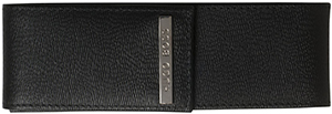 Leather pen case: 'Advance' by BOSS: £69.