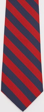 J.Press Regimental Tie - Navy and Red: US$59.