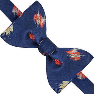 Thomas Pink tyndale 'self tie' bow tie: £59.