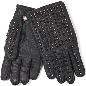 Philipp Plein men's 'Live' gloves: €598.