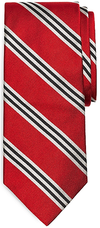 Brooks Brother BB#1 Repp Tie: US$79.50.
