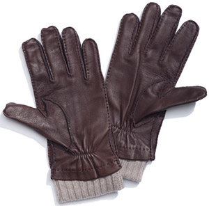 Loro Piana Didier Plogé Men's Leather Gloves: €620.