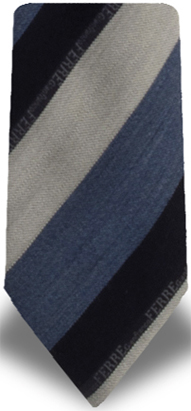 Gianfranco Ferrè Logged, Regimental Tie: US$65.