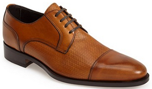 Canali Cap Toe Derby men's shoe: US$655.