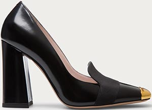 Bally Cinthia Women's Leather Pump in Black: US$695.