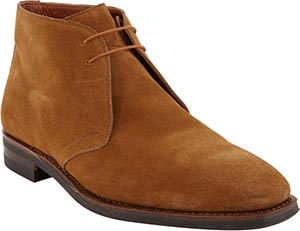 Battistoni Two-Eye Chukka Boots: US$695.