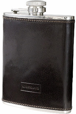 Mulholland Leather 6 oz Captive Top Flask: US$79.95.