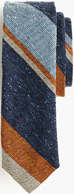 J.Crew English Silk Tie in Mixed Stripe: US$75.