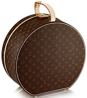 Louis Vuitton Monogram hat box: US$3,550.