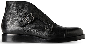 Emporio Armani Stivaletto in Vitello: US$775.